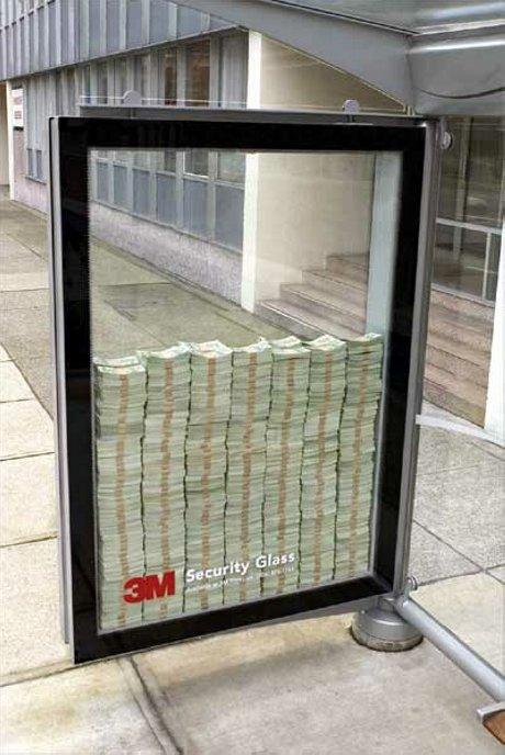 banii din reclama