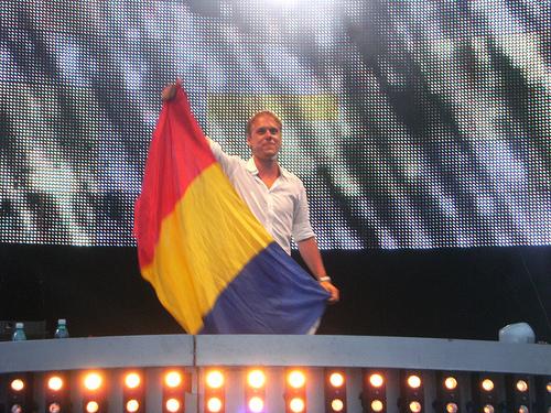 Armin in Romania