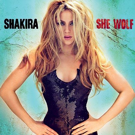 Shakira coperta She wolf
